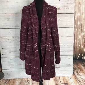 Lane Bryant Wool Blend Knit Cardigan